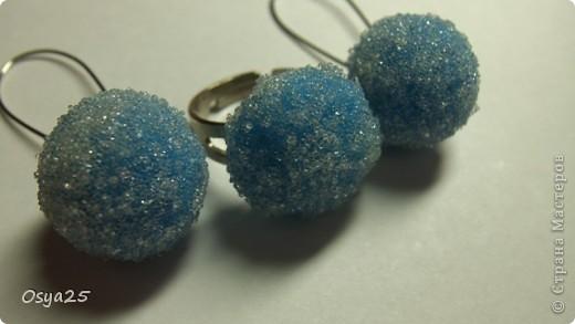 Набор кольцо и сережки! фото 6