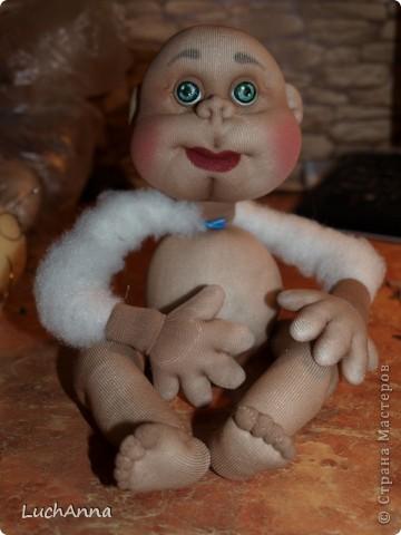Замарашечка во всей красе))) Кукла, которая может получится в результате этого МК. первая часть МК находится здесь: https://stranamasterov.ru/node/218315 фото 42