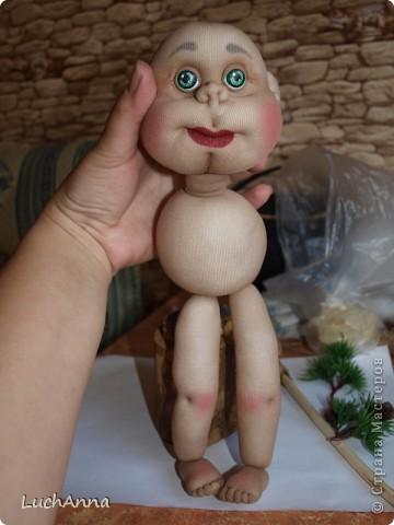 Замарашечка во всей красе))) Кукла, которая может получится в результате этого МК. первая часть МК находится здесь: https://stranamasterov.ru/node/218315 фото 45