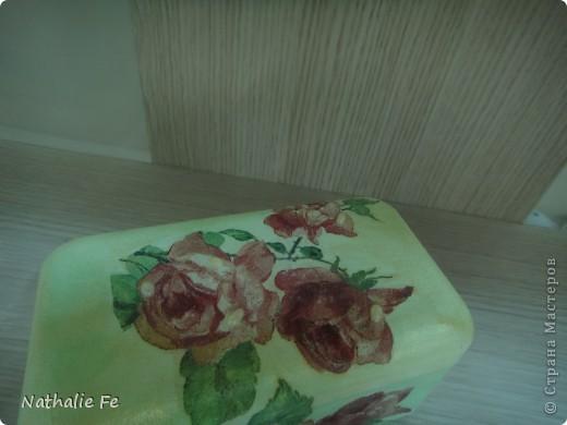 """Декупаж коробочки из-под конфет """"Ferrero rocher"""" фото 16"""