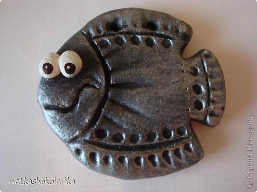 Рыбки из подкрашенного кофе и какао теста фото 6