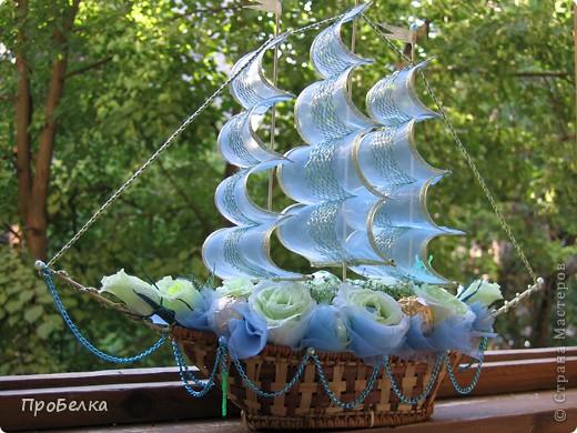 Мой первый корабль... Счастливого плавания! фото 1