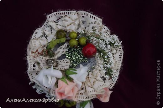 Пока была у мамы в гостях, сделала такую шкатулочку из бобины от скотча. МК http://scrap-info.ru/myarticles/article_storyid_425.html фото 4