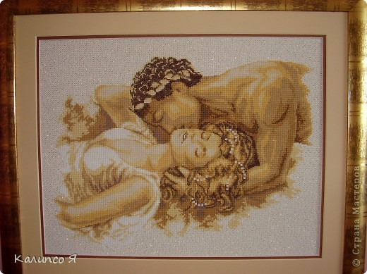 """картина под названием """"Греческий поцелуй""""... фото 1"""