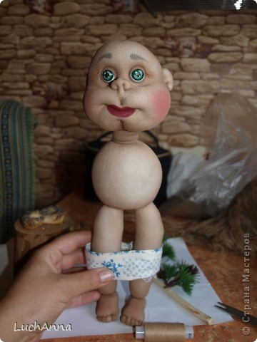 Замарашечка во всей красе))) Кукла, которая может получится в результате этого МК. первая часть МК находится здесь: http://stranamasterov.ru/node/218315 фото 75