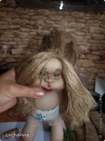 Замарашечка во всей красе))) Кукла, которая может получится в результате этого МК. первая часть МК находится здесь: https://stranamasterov.ru/node/218315 фото 80