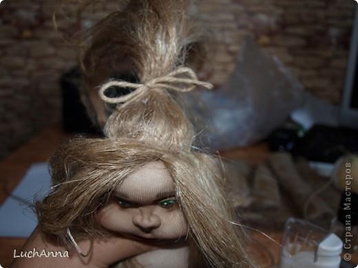 Замарашечка во всей красе))) Кукла, которая может получится в результате этого МК. первая часть МК находится здесь: https://stranamasterov.ru/node/218315 фото 83