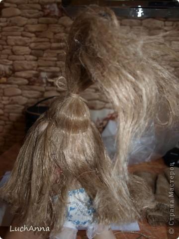 Замарашечка во всей красе))) Кукла, которая может получится в результате этого МК. первая часть МК находится здесь: https://stranamasterov.ru/node/218315 фото 84