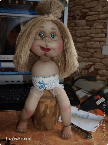 Замарашечка во всей красе))) Кукла, которая может получится в результате этого МК. первая часть МК находится здесь: https://stranamasterov.ru/node/218315 фото 85
