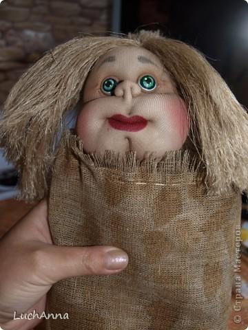 Замарашечка во всей красе))) Кукла, которая может получится в результате этого МК. первая часть МК находится здесь: https://stranamasterov.ru/node/218315 фото 86