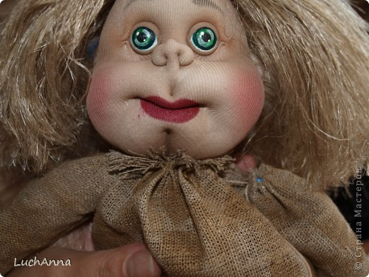 Замарашечка во всей красе))) Кукла, которая может получится в результате этого МК. первая часть МК находится здесь: https://stranamasterov.ru/node/218315 фото 89