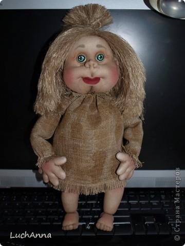 Замарашечка во всей красе))) Кукла, которая может получится в результате этого МК. первая часть МК находится здесь: https://stranamasterov.ru/node/218315 фото 90
