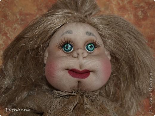 Замарашечка во всей красе))) Кукла, которая может получится в результате этого МК. первая часть МК находится здесь: https://stranamasterov.ru/node/218315 фото 92