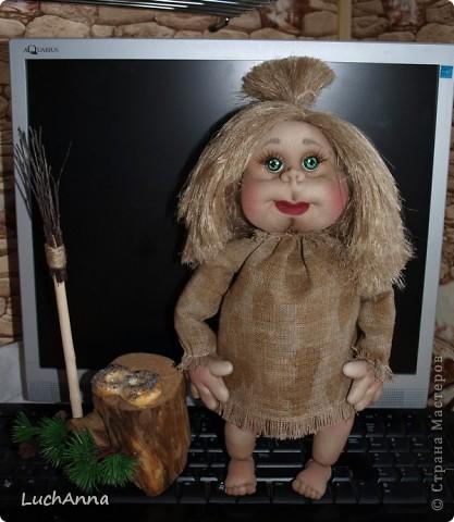 Замарашечка во всей красе))) Кукла, которая может получится в результате этого МК. первая часть МК находится здесь: https://stranamasterov.ru/node/218315 фото 1