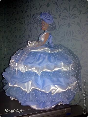 Ещё шкатулочки)))) Голубенькая для любимой доченьки Дарьюшки)))) фото 4