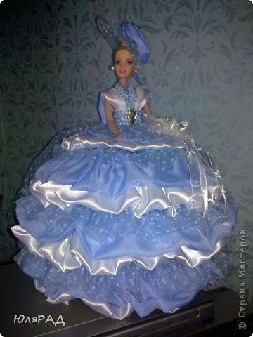 Ещё шкатулочки)))) Голубенькая для любимой доченьки Дарьюшки)))) фото 6