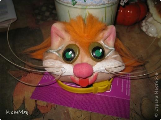 Привет всем жителям Страны Мастеров! Меня зовут Кот Леопольд. Сначала из меня хотели сделать Кота в Сапогах, но я решил, что это не моя сущность, поэтому уговорил сделать меня Леопольдом. Ну, как - похож? фото 6