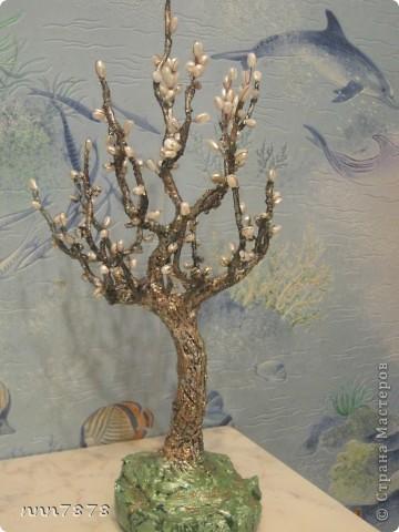 дерево из жемчуга фото 1