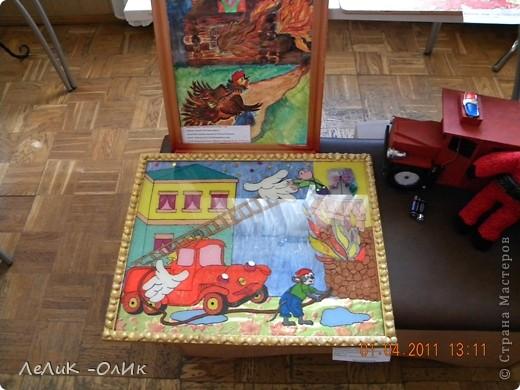 Здравствуйте жители Страны Мастеров! В нашем городе традиционно проходит конкурс детско-юношеского творчества по пожарной безопасности фото 15