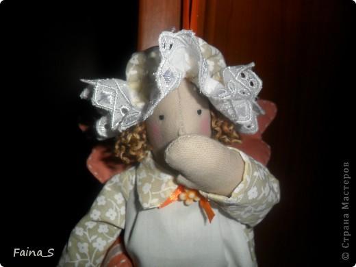 Хочу показать моих долгожданных, долгошитых сонных ангелов! Сначала была задумка сшить ангелов для своих детишек, но потом поняла, что хочу и себе, да и не буду же я мужа обижать невниманием! Вообщем получилась семья! Чему наша семья рада! фото 5