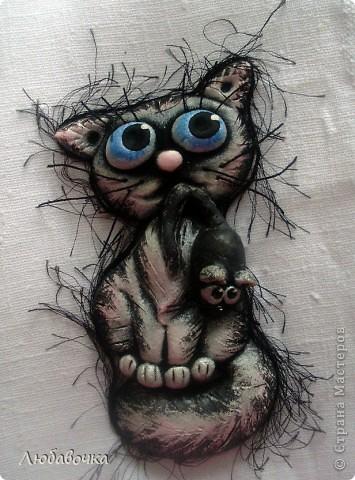 Котёнок с мышкой) фото 2