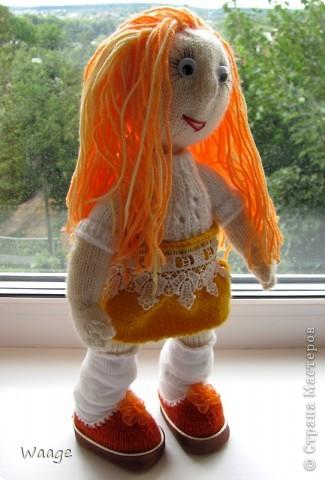 Новая хозяйка назвала куклу Ирой. Мне приятно ))  фото 3