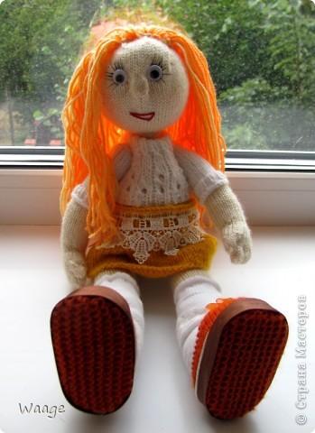 Новая хозяйка назвала куклу Ирой. Мне приятно ))  фото 2