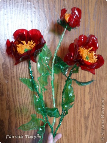 Цветы из яичных ячеек.  Мастер-класс: http://masterica.maxiwebsite.ru/archives/1088#more-1088 фото 12