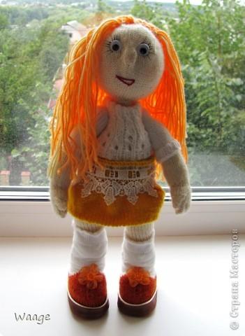 Новая хозяйка назвала куклу Ирой. Мне приятно ))  фото 1
