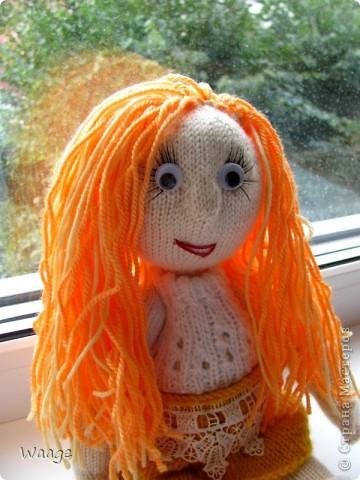 Новая хозяйка назвала куклу Ирой. Мне приятно ))  фото 4