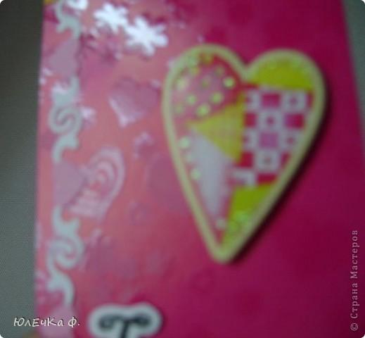 Здесь я буду размещать карточки,которые образовались вне серий.    №1 (цветы немного объёмны,к сожалению,не удалось сфотографировать) фото 5