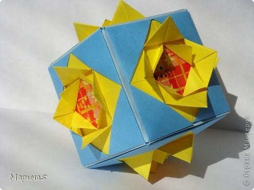 Всем здравствуйте! Эти кусудамы из книги Origami Kusudama - Tomoko Fuse. фото 2