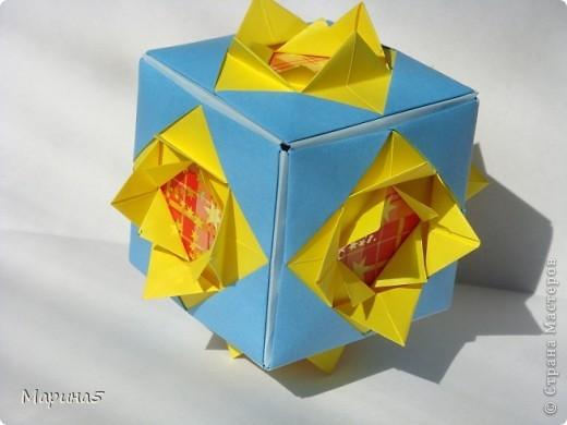 Всем здравствуйте! Эти кусудамы из книги Origami Kusudama - Tomoko Fuse. фото 3