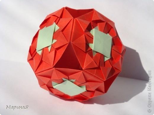 Всем здравствуйте! Эти кусудамы из книги Origami Kusudama - Tomoko Fuse. фото 5