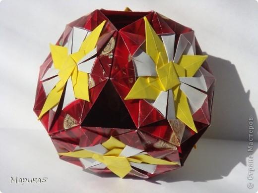Всем здравствуйте! Эти кусудамы из книги Origami Kusudama - Tomoko Fuse. фото 6
