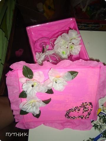 Вот такая красот а у меня получилась!!!! Решила подруге на свадьбу подарить!!!!! фото 1