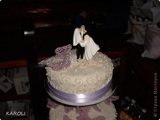 свадебный тортик фото 2