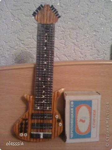 Гитара Уорра. фото 3