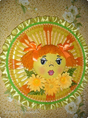 солнышко для детской комнаты фото 1