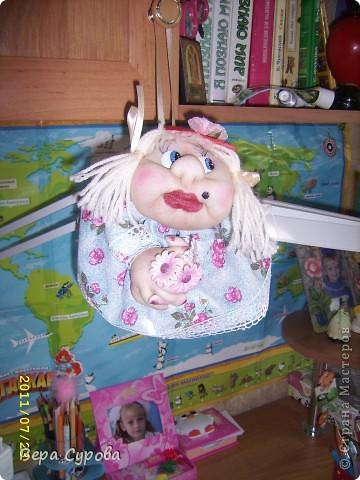 Клава - моя первая кукла-попик фото 6