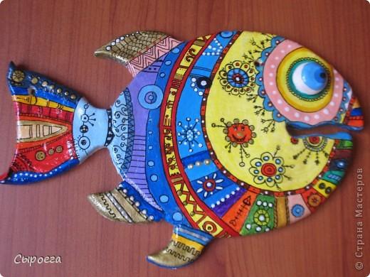 Росписная рыбка:) фото 1