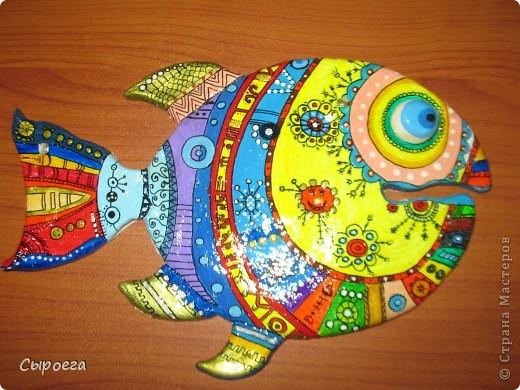 Росписная рыбка:) фото 2