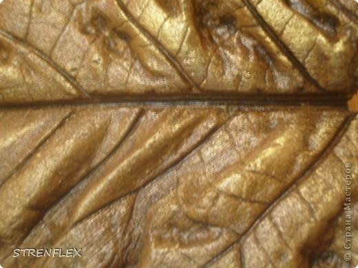 Вот так вот, снова благодаря Алевтинушке, у меня получился вот такой битумный листик. Поскольку покраска проходила вместе с моим панно, то его ждали практически теже эксперименты что и панно... фото 10