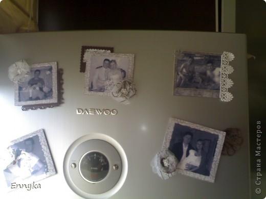 в подарок на день рождения   решила сделать  магниты на холодильник.  у друзей дома почему то не очень много фото  в рамках. ... фото 3