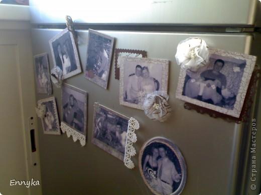 в подарок на день рождения   решила сделать  магниты на холодильник.  у друзей дома почему то не очень много фото  в рамках. ... фото 1