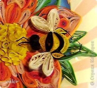 """И снова здравствуйте, дорогие жители Страны! С этим цветком я участвовала в конкурсе от Хомячка. но, как говорится, сказал А - говори и Б. Поэтому получилось вот такое продолжение, которое сегодня выставляю на ваш суд и обозрение под названием """"Хоровод на крыльях лета"""" фото 4"""