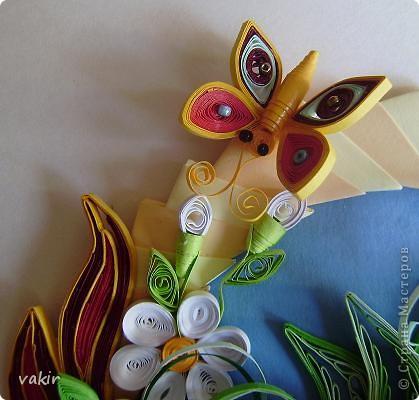 """И снова здравствуйте, дорогие жители Страны! С этим цветком я участвовала в конкурсе от Хомячка. но, как говорится, сказал А - говори и Б. Поэтому получилось вот такое продолжение, которое сегодня выставляю на ваш суд и обозрение под названием """"Хоровод на крыльях лета"""" фото 6"""