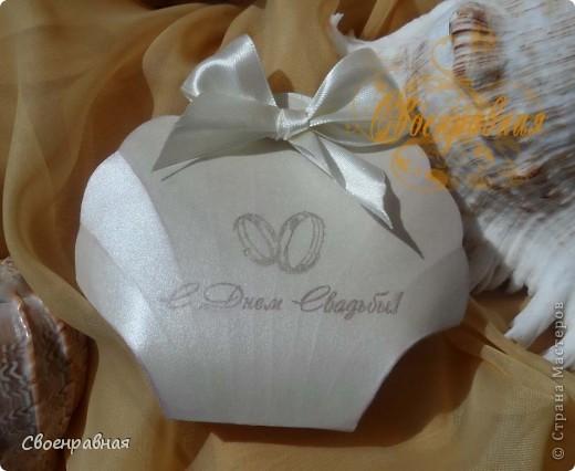 Свадебная бонбоньерка фото 1