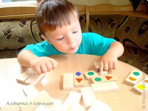 Давно хотела купить ребёнку деревянные доминошки. Всё дело не доходило. фото 6