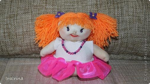 Понравились куклы, вот сшила еще одну по МК НеВероятнаЯ http://stranamasterov.ru/node/123246 фото 1